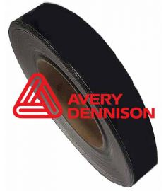 De-Chroming Tape Avery Black Matt breedte 5cm