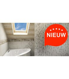 Reflectiv INT 290 Frosted drops of honey breedte 152cm