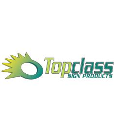Topclass Sign Products Etched-serie breedte 61cm