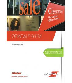 Oracal 641 GLOSS Black-White-Transparent 63cm