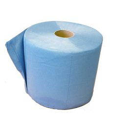 Poetsdoeken 3-laags blauw