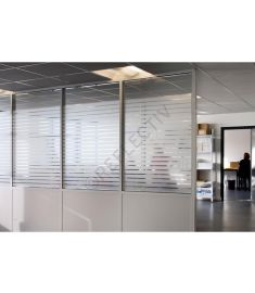 Reflectiv INT 245 Frosted stripes of 45mm breedte 152cm