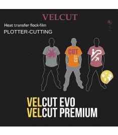 SEF-Velcut Flock Neon breedte 50cm