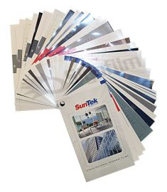 Suntek Flatglass sample book