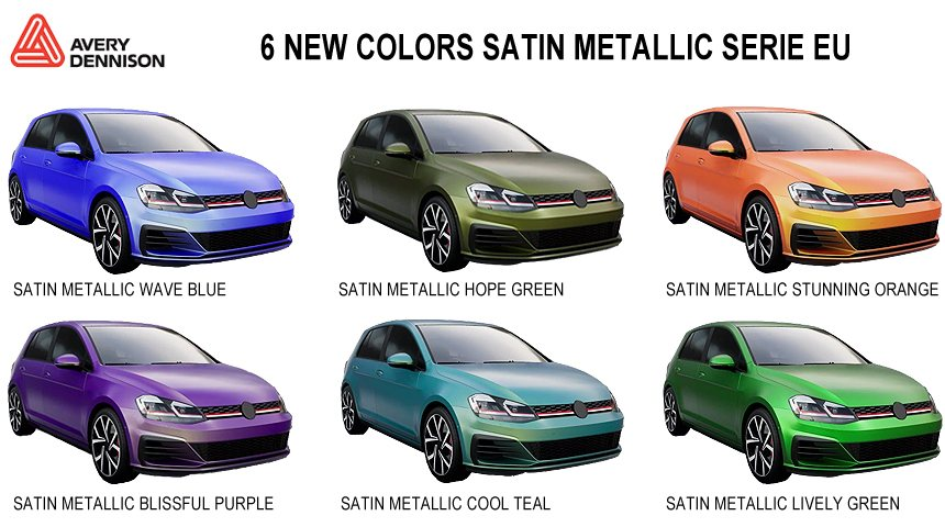 Avery Satin Metallic New Colors
