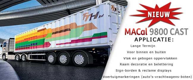 MACal 9800 CAST MacTac 9800 CAST